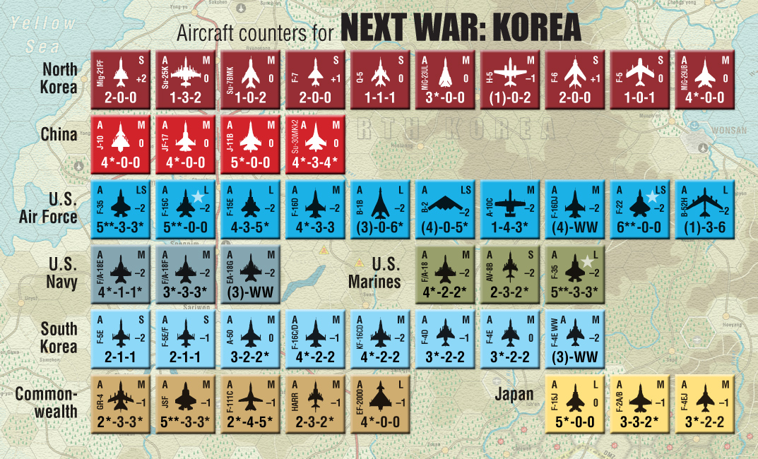 GMT Games - Next War: Korea, 2nd Edition
