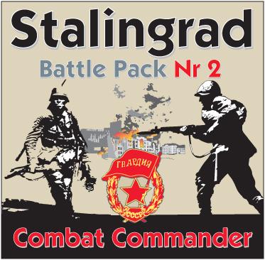 Combat Commander Battle Pack 2: Stalingrad -  GMT Games