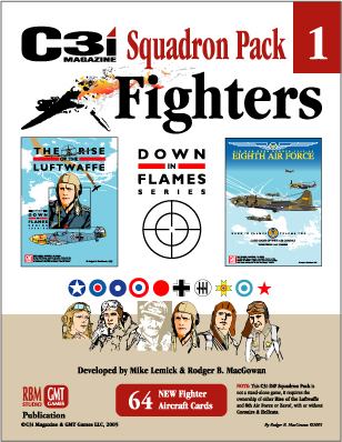 Down in Flames Squadron Pack -  GMT Games