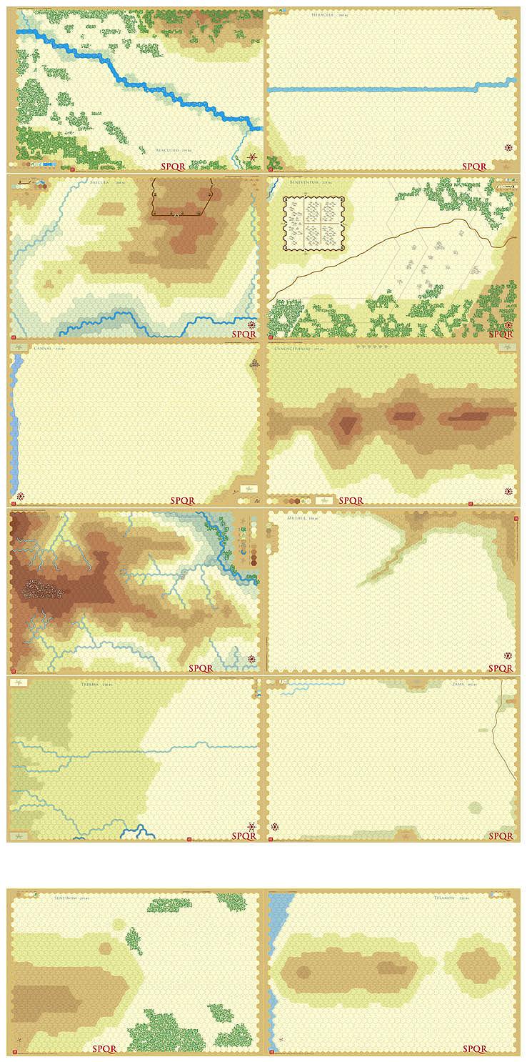 SPQR, SGBOH et GBOH Spqr_all_maps