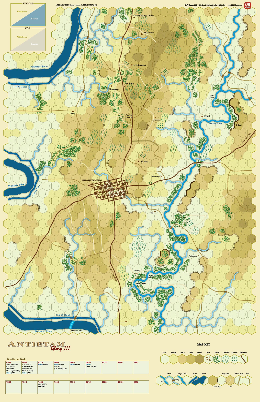 Antietam Map 987 Kb