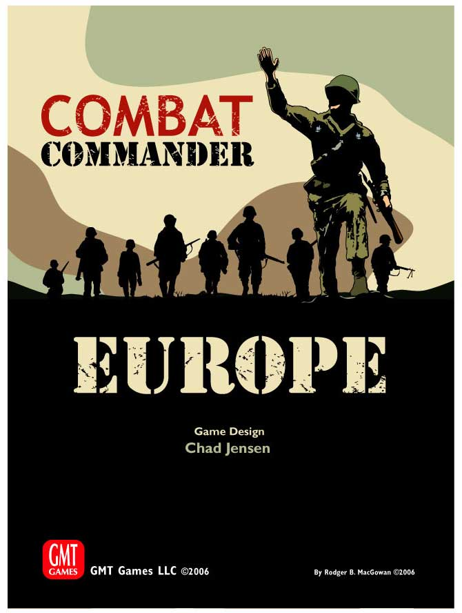Combat Commander Europe: 2014 Reprint (T.O.S.) -  GMT Games