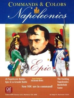 Commands and Colours Napoleonics Epic -  GMT Games