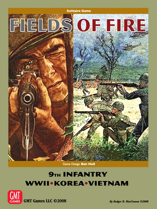 Fields of Fire Volume 1: 9th Infantry WWII Korea Vietnam -  GMT Games