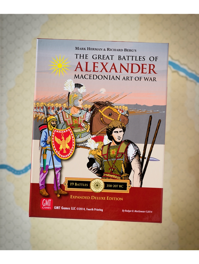The Great Battles of Alexander Deluxe Expanded Edition -  GMT Games