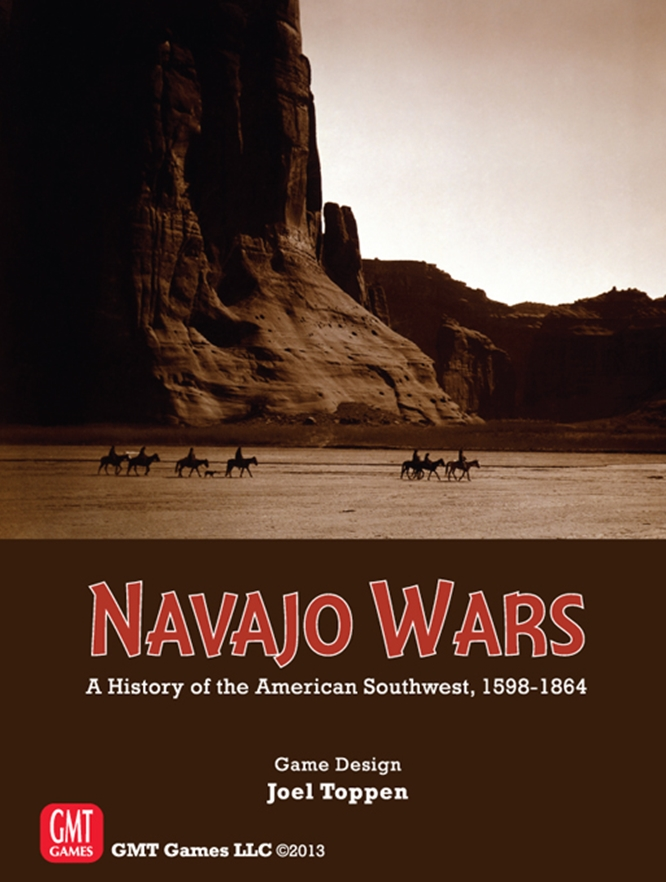 GMT Games: Navajo Wars: A History of the American Southwest, 1598 to 1864.