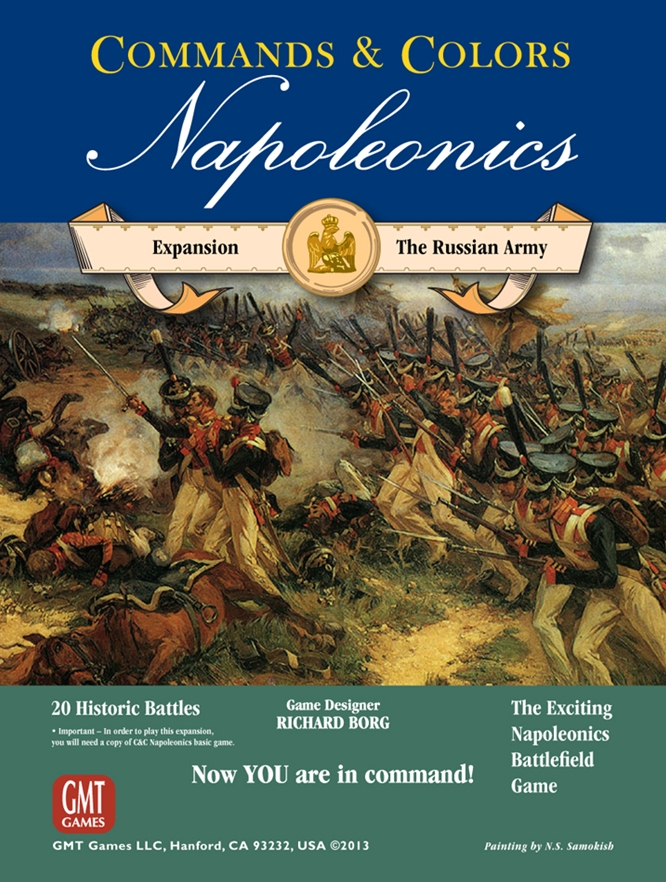 Commands and Colours Napoleonics: Russian Army (T.O.S.) -  GMT Games