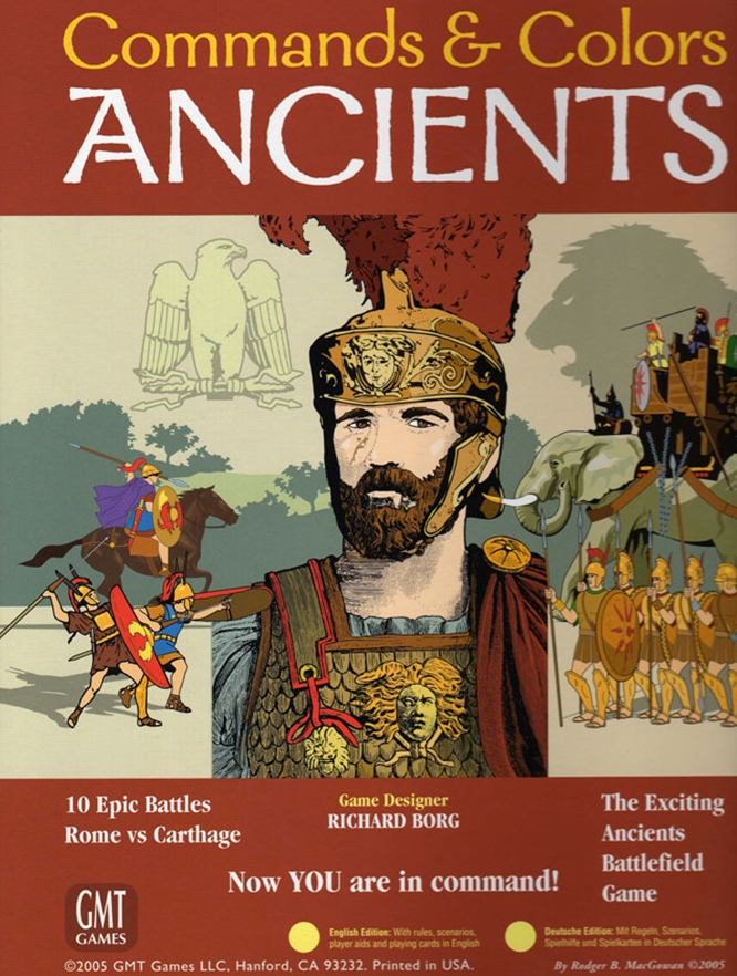 GMT Games: Command and Colours Ancients Expansion 1 :Greece and the Eastern Kingdoms