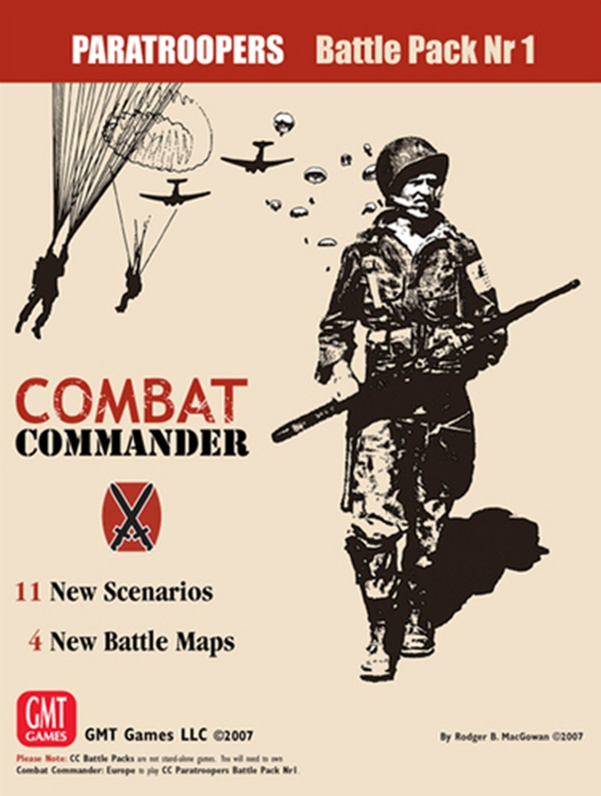 Combat Commander Battle Pack 1: Paratroopers (T.O.S.) -  GMT Games