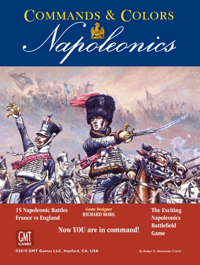 Commands and Colours: Napoleonics (T.O.S.) -  GMT Games