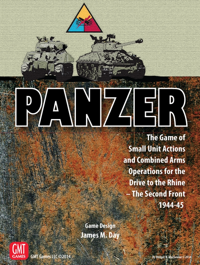 Panzer Expansion 3: Drive to the Rhine: The 2nd Front - GMT Games