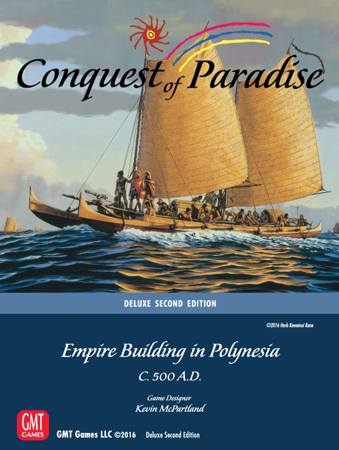 Conquest of Paradise -  GMT Games