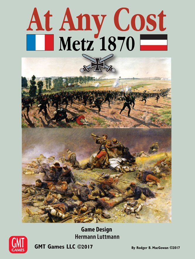 At Any Cost: Metz 1870 -  GMT Games