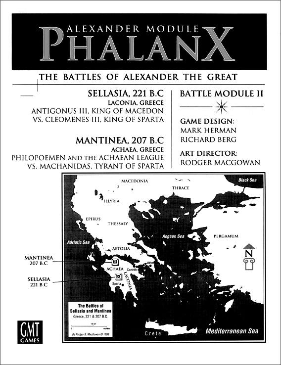 Phalanx Module: Great Battles of Alexander Module -  GMT Games