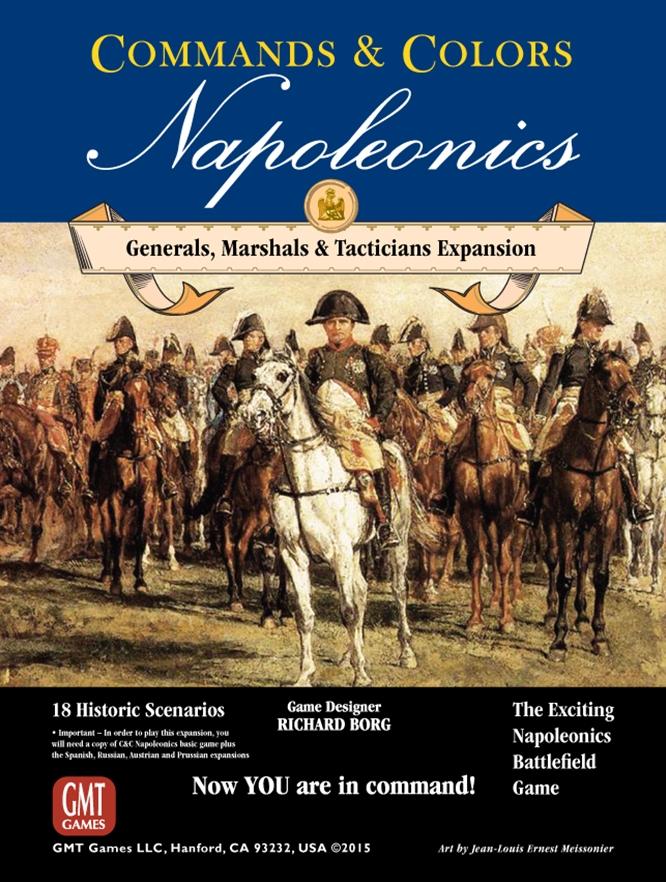 C and C Napoleonics Expansion 5: Generals, Marshalls, Tacticians -  GMT Games