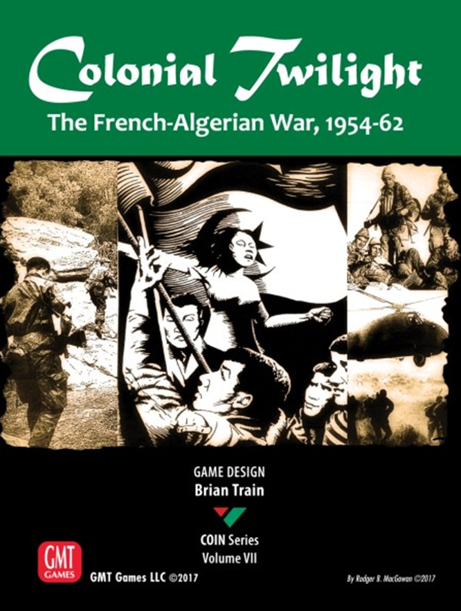 Colonial Twilight: The French-Algerian War 1954-62 -  GMT Games