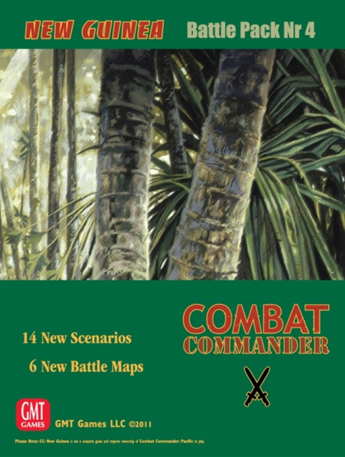 Combat Commander Battle Pack 4: New Guinea (T.O.S.) -  GMT Games