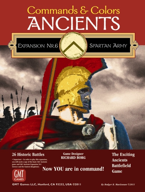 Commands and Colors : Spartan Army -  GMT Games