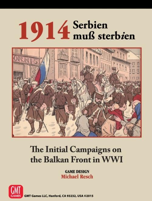 1914: Serbien Muss Sterbien - GMT Games