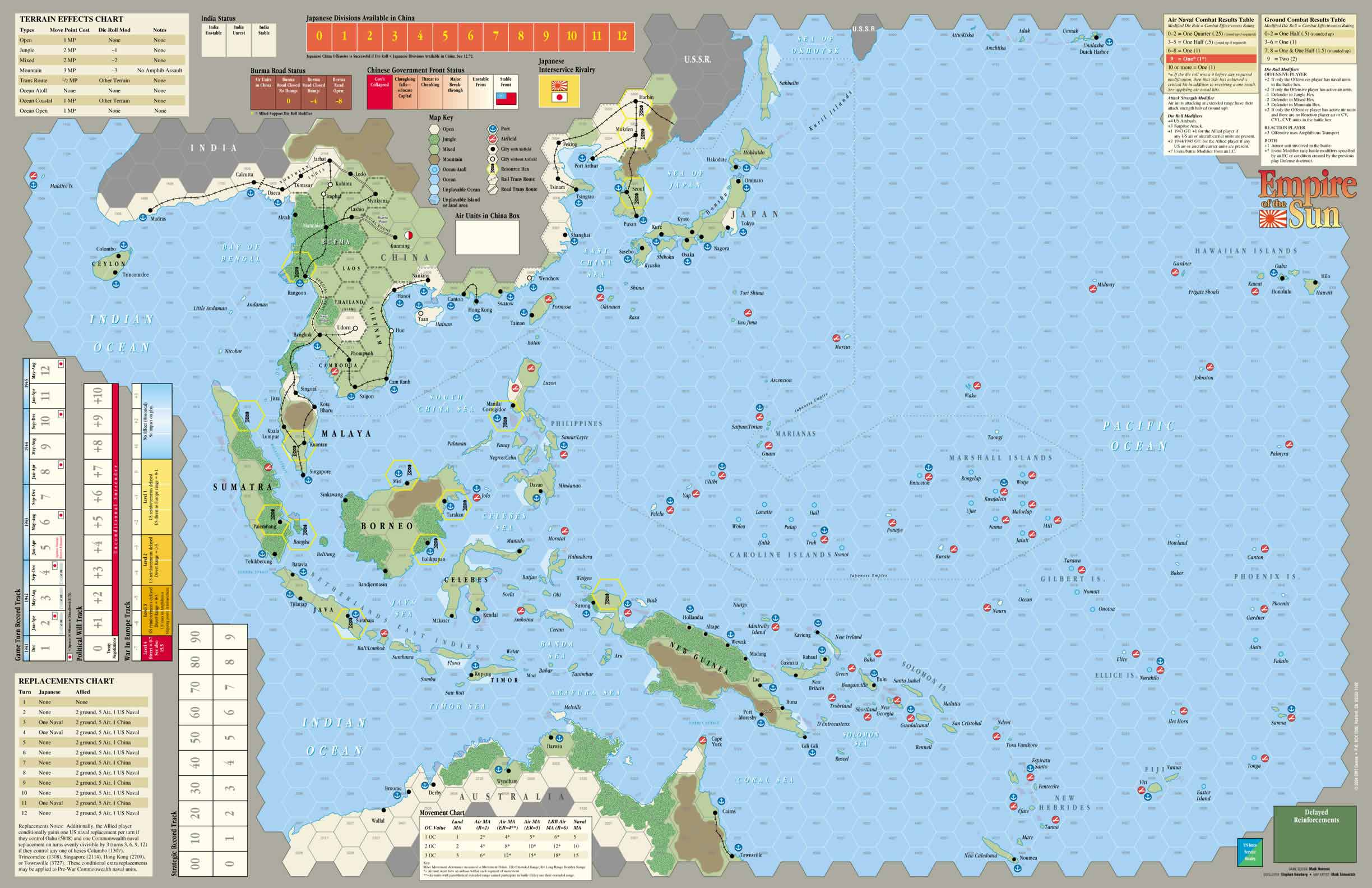 GMT GAMES: Empire of the Sun