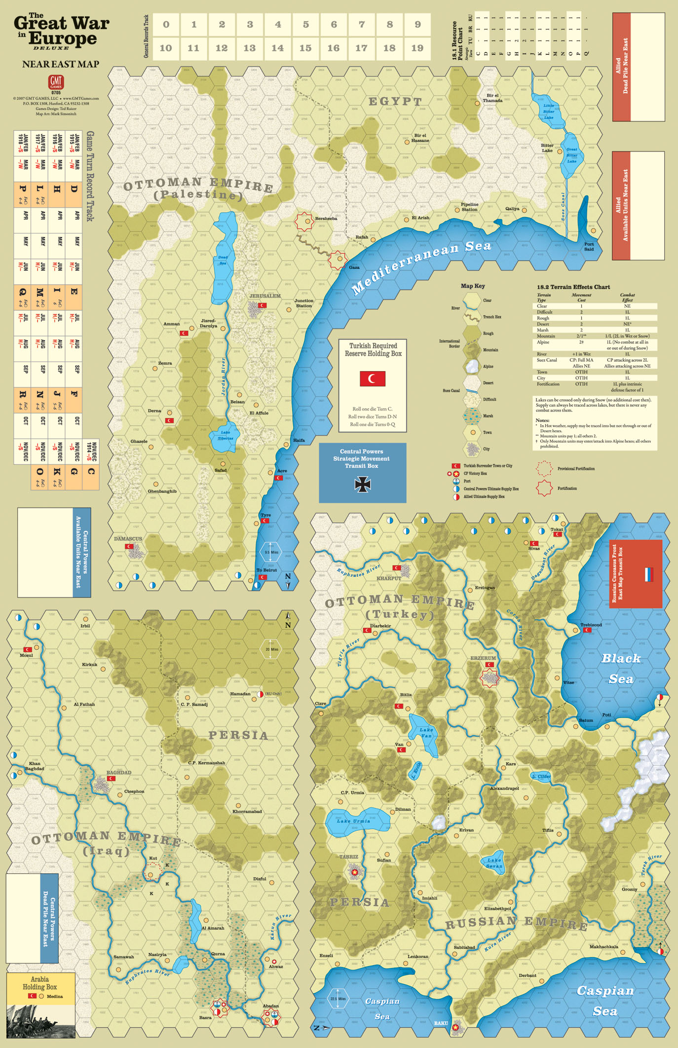 Gmt games project 500 near east map 704 kb nvjuhfo Image collections