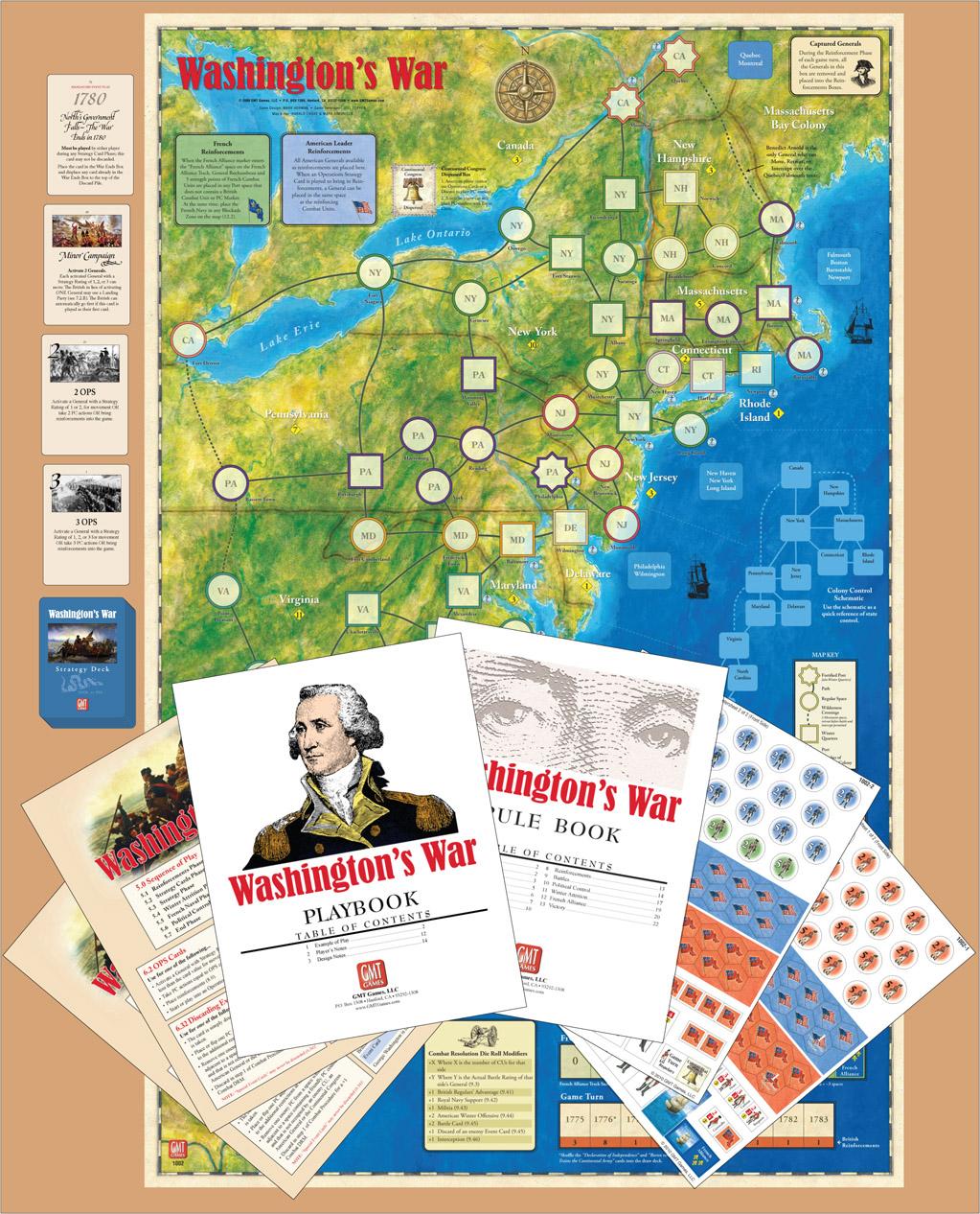 Gmt Games Washington S War Reprint Edition