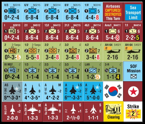 Gmt Games Next War Korea Reprint Ed