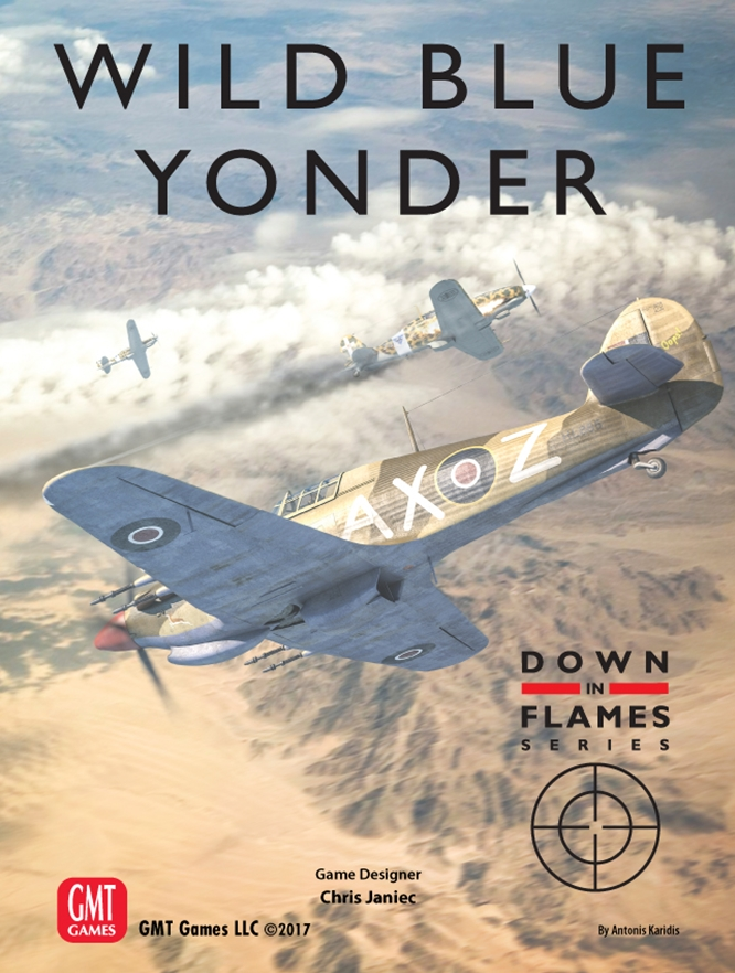 Wild Blue Yonder: Plane vs Plane Air Combat 1939 - 1945 Down in Flames Series -  GMT Games