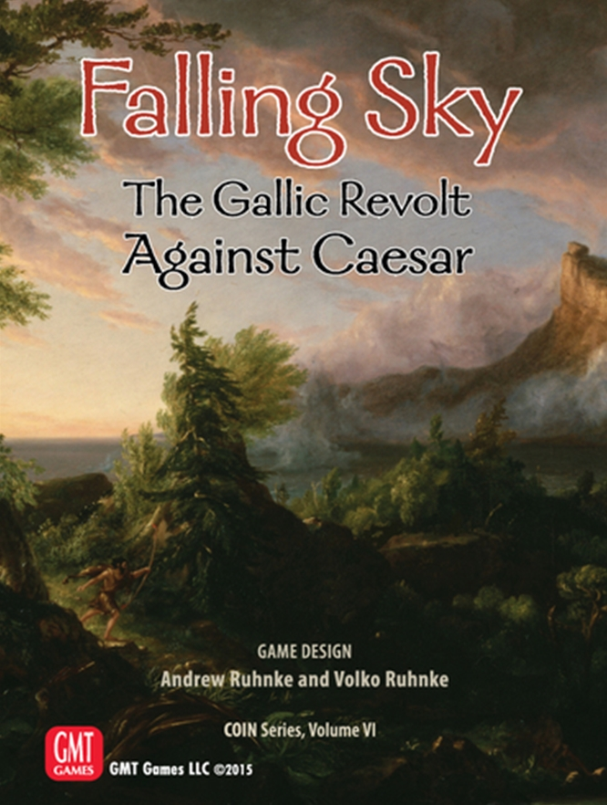 Falling Sky: The Gallic Revolt Against Caesar (T.O.S.) -  GMT Games