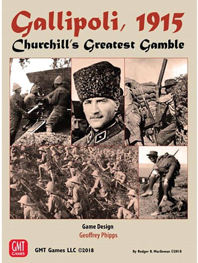 GMT Games - Gallipoli, 1915: Churchill's Greatest Gamble