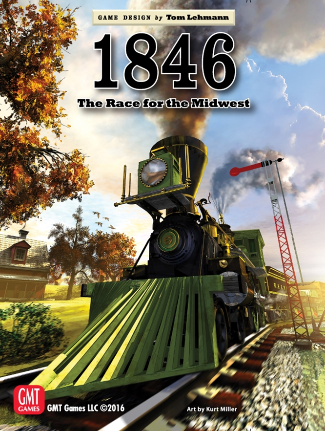 GMT Games - 1846: The Race to the Midwest, 1846-1935
