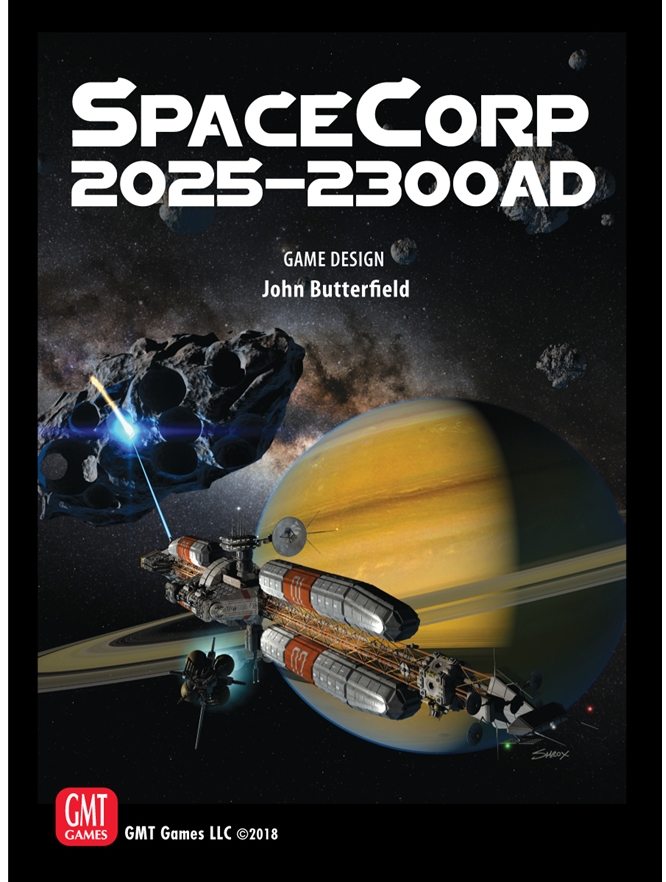 SpaceCorp: 2025-2300 AD -  GMT Games