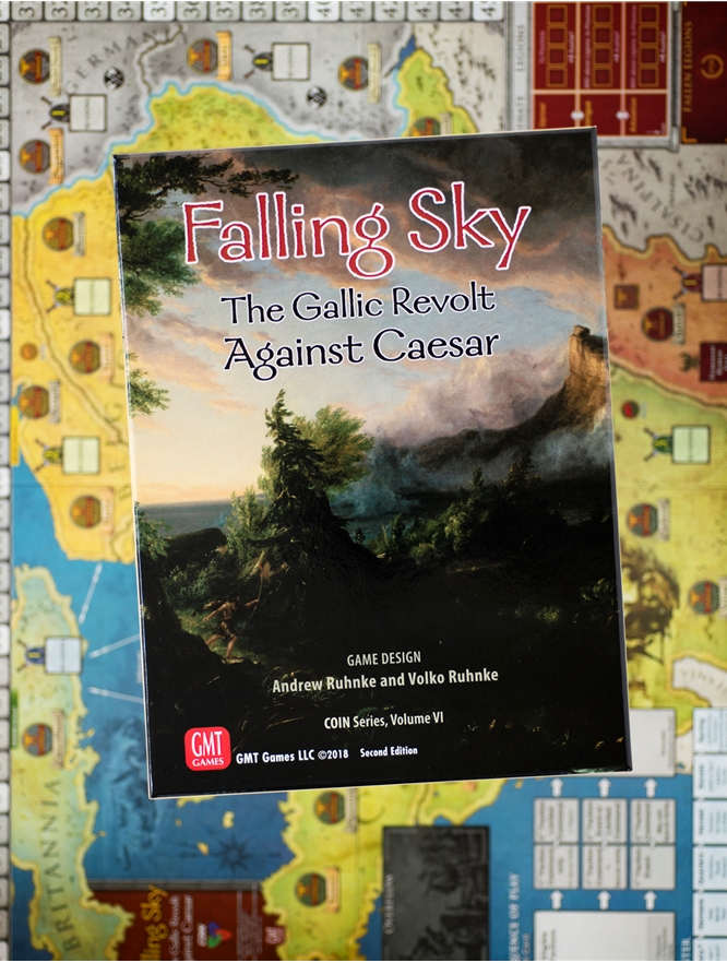 The Gallic Revolt Against Caesar GMT GAMES NEW AND SEALED Falling Sky