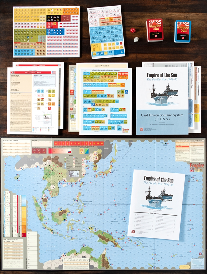GMT Games - Empire of the Sun, 3rd Printing