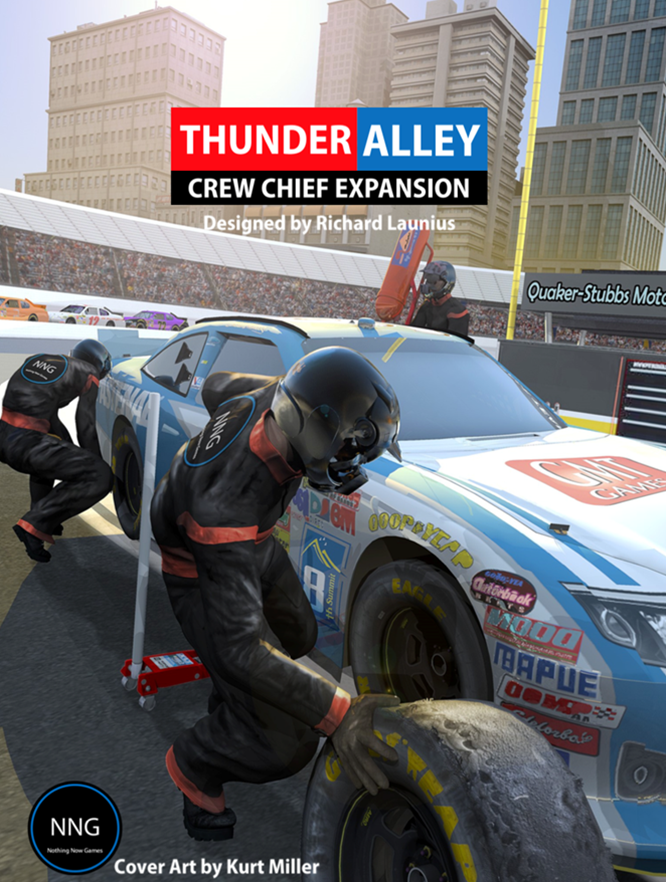 GMT Games - Thunder Alley Crew Chief