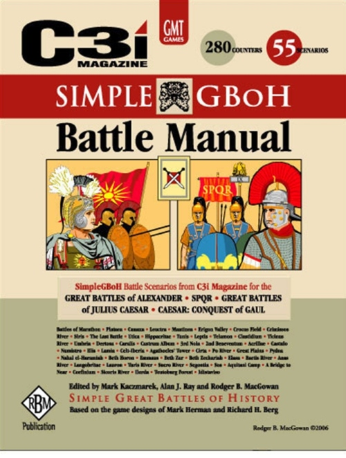 GMT Games - Simple GBoH Battle Manual