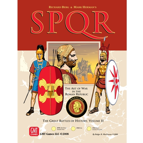 SPQR Deluxe: Great Battles of History Volume II -  GMT Games