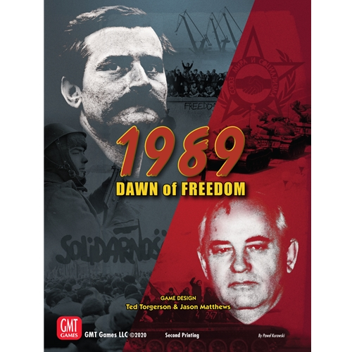 1989: Dawn of Freedom -  GMT Games