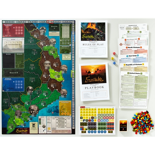 GMT Games - Fire in the Lake 2nd Printing
