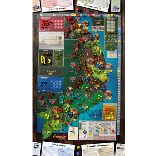 Map Of Fires In Spain 2017.Gmt Games Fire In The Lake 2nd Printing