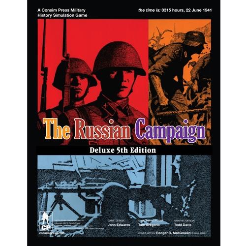 GMT Games - The Russian Campaign: Designer Signature Edition