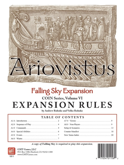 Ariovistus Falling Sky Expansion -  GMT Games