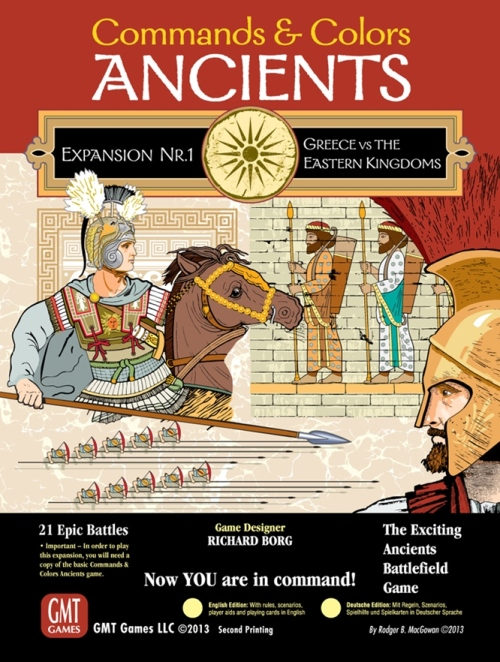 Commands and Colours Ancients: Greece and the Eastern Kingdoms Expansion 1 -  GMT Games