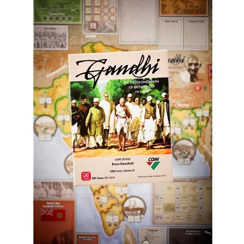 GMT Games - Gandhi: The Decolonization of British India