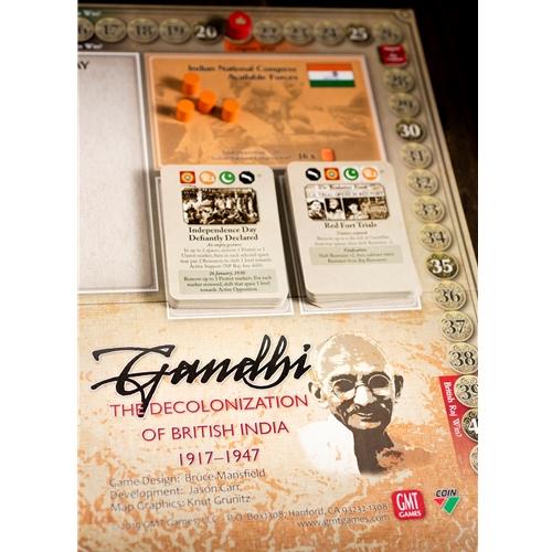 GMT Games - Gandhi: The Decolonization of British India, 1917–1947