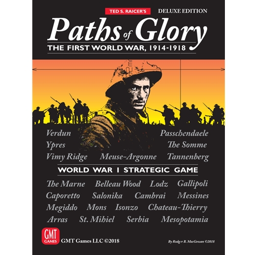 Paths of Glory Deluxe Edition Sixth Printing -  GMT Games