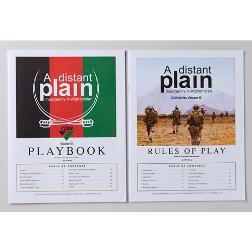 GMT Games - A Distant Plain, 3rd Printing