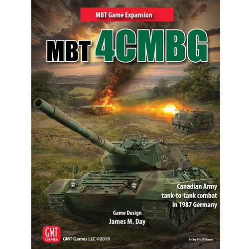 MBT 4CMBG: The Canadian Army in 1987 Tank-to-Tank Combat - GMT Games