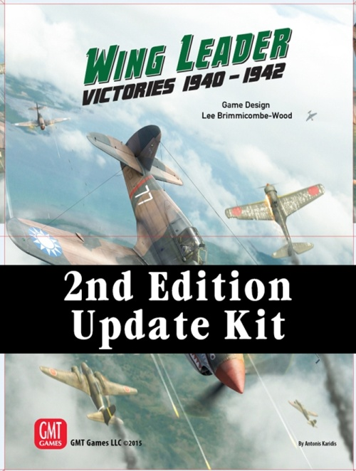 Wing Leader: Victories 1940-1942 Vol I Update Kit -  GMT Games