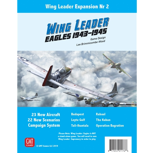 Eagles: Wing Leader: Supremacy 1943-1945 Vol II -  GMT Games